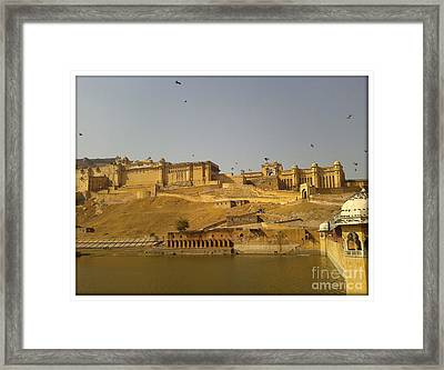 The Fort  Framed Print by Ankit Garg