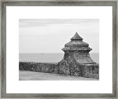 The Fort Framed Print