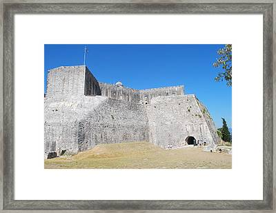 Framed Print featuring the photograph The Fort Never Fell by George Katechis