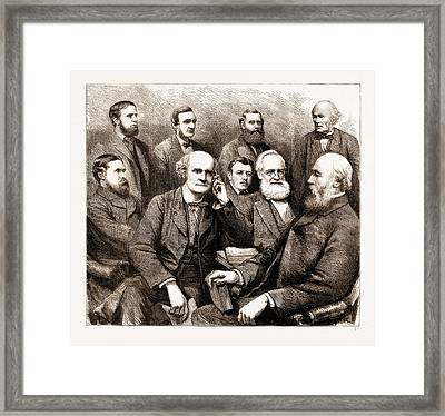 The Forthcoming Meeting Of The British Association, 1883 Framed Print by Litz Collection