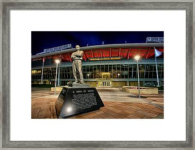 The Founder Framed Print by Thomas Zimmerman