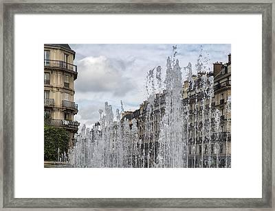 The Fountain Framed Print by Georgia Fowler