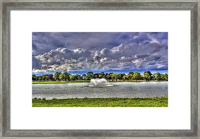 The Fountain Framed Print by Tim Buisman