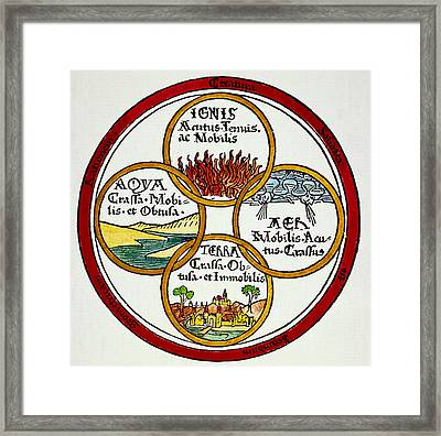 The Four Elements, 1472 Framed Print