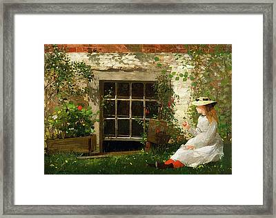 The Four Leaf Clover 1873 Framed Print by Philip Ralley