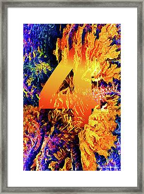 The Four Of Creation Framed Print