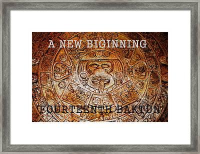 The Fourteenth Baktun Framed Print