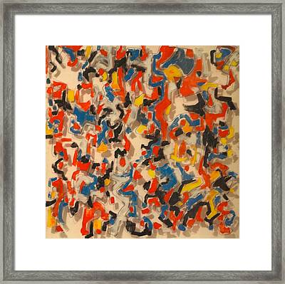 The Fourth Dimension Framed Print by Jymmy Forest