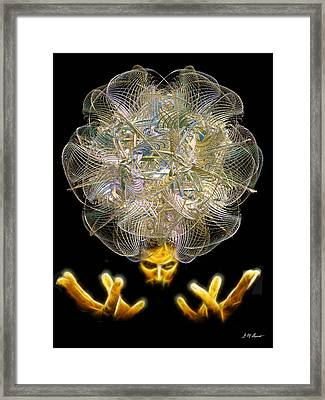 The Fractal Artist Framed Print by Michael Durst