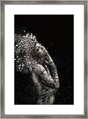The Fragile Squaw Framed Print by Alexandre Brouzes
