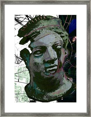 The Fragility Of The Trapeeze Artist Framed Print