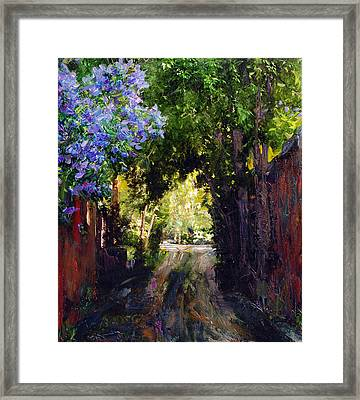 The Fragrant Passage Framed Print by Steven Boone