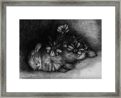 The Frailest Leaves Of Me Framed Print by Penny Collins