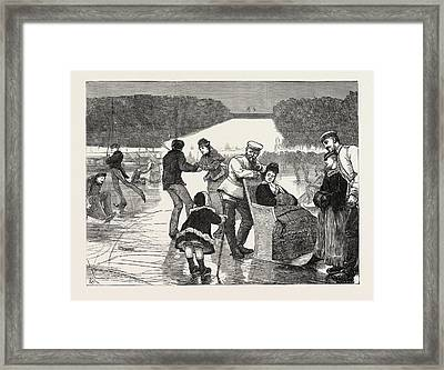 The Franco-prussian War Three Miles From The Front Framed Print