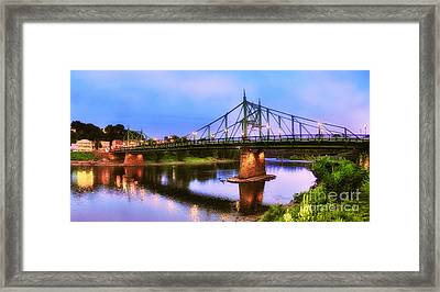 The Free Bridge Framed Print
