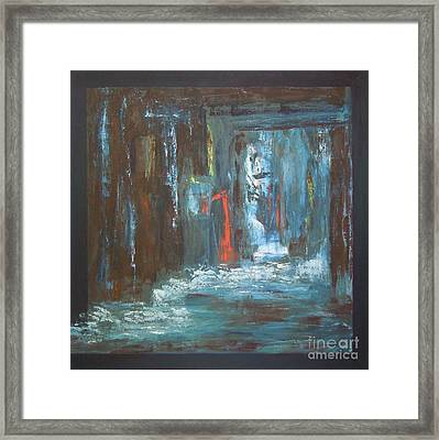 Framed Print featuring the painting The Free Passage by Mini Arora
