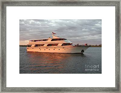 The Freeport Princess Framed Print