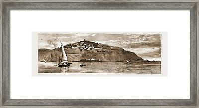 The French Occupation Of Tunis, 1881 The Village Of Saudi Framed Print