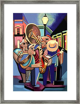 The French Quarter Framed Print by Anthony Falbo