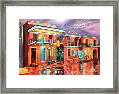 The Frenchmen Hotel New Orleans Framed Print