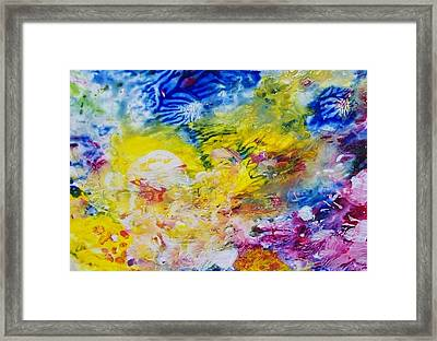 The Frequency Of Joy Framed Print