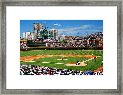 The Friendly Confines Framed Print by James Kirkikis