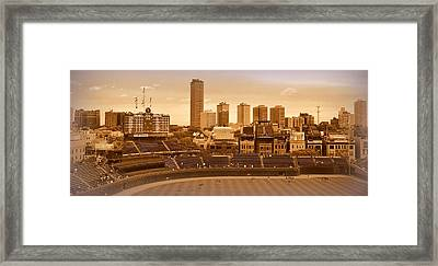 The Friendly Confines Framed Print by Toni Abdnour