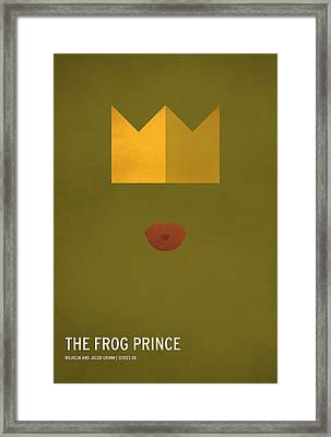The Frog Prince Framed Print by Christian Jackson