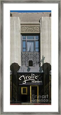 The Frolic Room Framed Print by Gregory Dyer