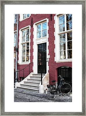 The Front Door Framed Print by John Rizzuto