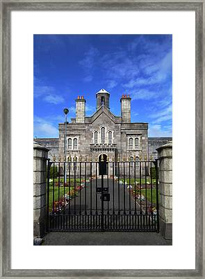 The Front Facade Of Arbour Hill Framed Print by Panoramic Images
