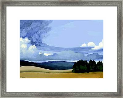The Front Framed Print by Patricia Howitt
