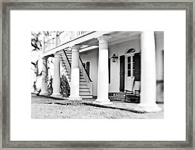 The Front Porch Framed Print by Scott Pellegrin