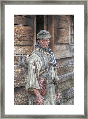 The Frontiersman Framed Print by Randy Steele