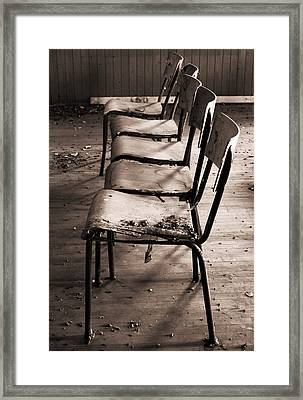 The Frontline Framed Print by Empty Wall