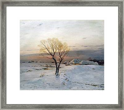The Frosty Morning Framed Print