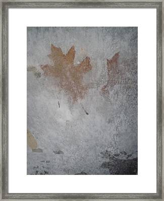 The Frozen Autumn Framed Print by Guy Ricketts