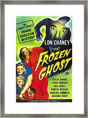 The Frozen Ghost Framed Print