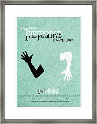 The Fugitive Framed Print by Ayse Deniz