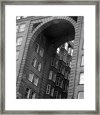 The Fulton Building Framed Print