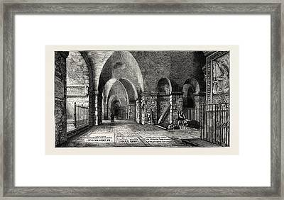 The Funeral Of The Late Sir Edwin Landseer The Artists Framed Print