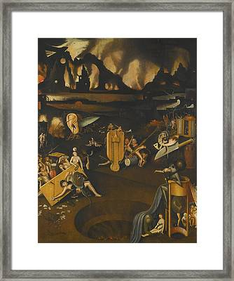The Furnace Of Hell Framed Print