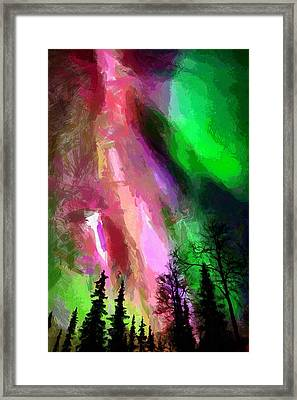 Framed Print featuring the painting The Future by Georgi Dimitrov