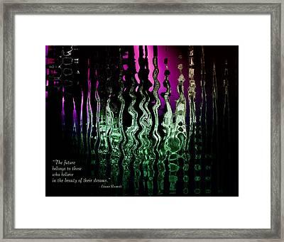 The Future Framed Print by Gerlinde Keating - Galleria GK Keating Associates Inc