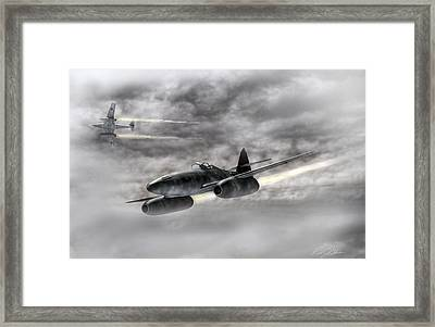 The Future Is Now Framed Print by Peter Chilelli