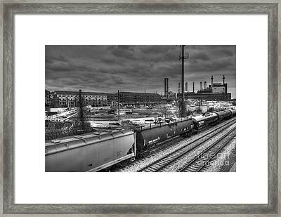 The Future Framed Print by Mark Ayzenberg