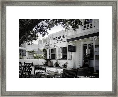 The Gable In Russell Framed Print