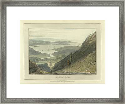 The Gair-loch Framed Print by British Library