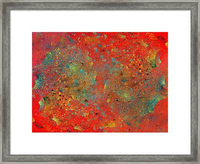 The Galaxy Contract Framed Print by Betsy Knapp