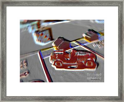 The Game - Monopoly Framed Print by Alan Thwaites